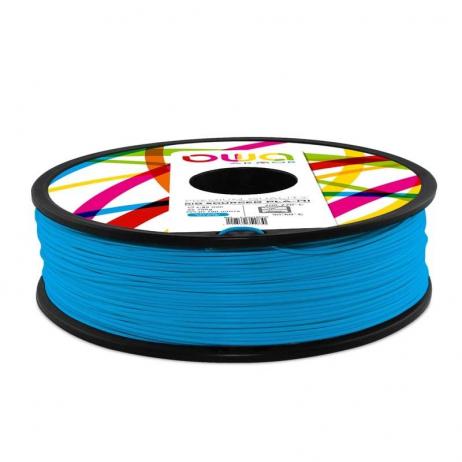 Filament PLA recyclé OWA bleu 2.85mm