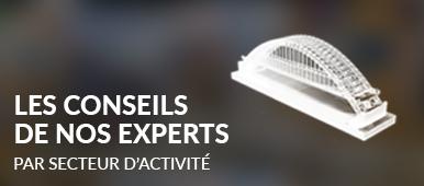 Le conseil de nos experts par secteur d'activité