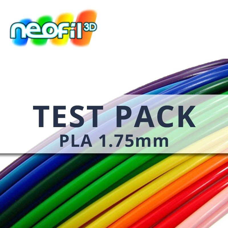 test pack samples pla neofil3d. Black Bedroom Furniture Sets. Home Design Ideas