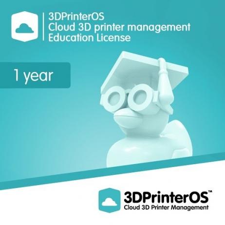 3DPrinterOS: Education Licence
