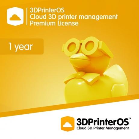3DPrinterOS : Licence Premium