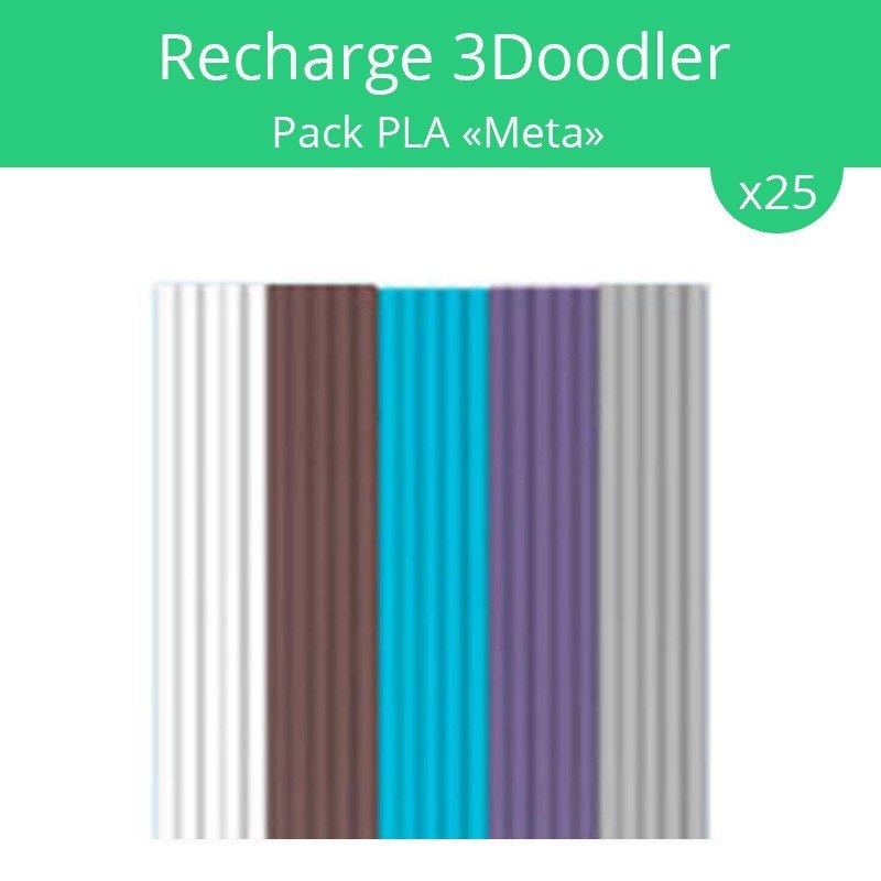 recharge 3doodler pack pla meta acheter sur. Black Bedroom Furniture Sets. Home Design Ideas