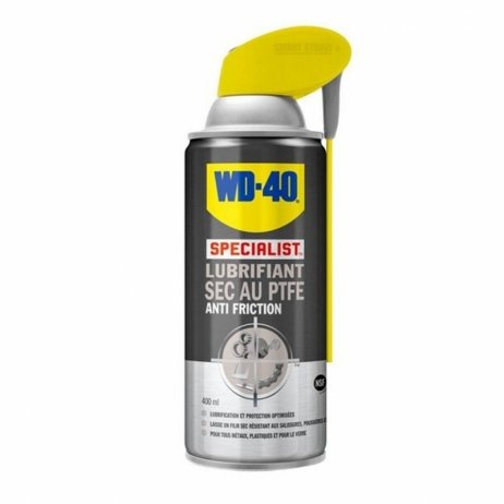 WD-40 dry lubricant