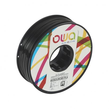 Filament 3D PLA-S OWA Noir