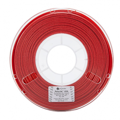 Polymaker PolyLite ASA Red 2.85mm